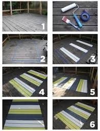 Painting An Outdoor Rug Paint Rug On Deck Diy Ideas Painted On Area Rug On Back Deck
