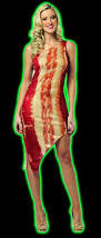 Bacon Halloween Costume Halloweentown Store Womens Bacon Dress Costume
