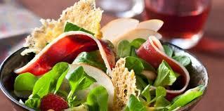 seche cuisine salade au magret séché facile recette sur cuisine actuelle