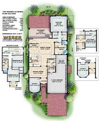 Spanish House Floor Plans Spanish House Plans Mediterranean Style Greatroom Courtyard