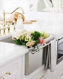 towel bar on sink kitchen pinterest towels bar and towel bars