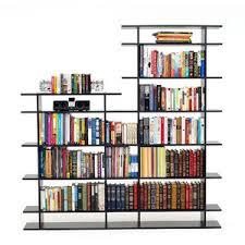 6 Shelf Bookshelf 6 Foot Wide 2 Tier Bookshelf By Smart Furniture Polyvore