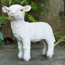 sheep animals garden statues lawn ornaments ebay