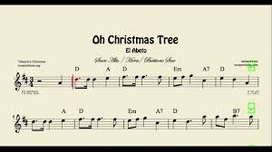 oh christmas tree sheet music for alto sax baritone sax and horn