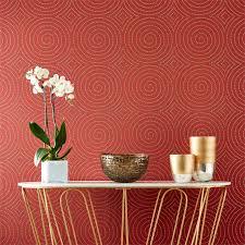 papier peint harlequin elegant wallpaper spiralling with shimmer sakura by harlequin