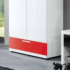 Wohnzimmerschrank Rot Schrank Cabilao In Weiß Hochglanz U0026 Rot Hochglanz Wohnen De