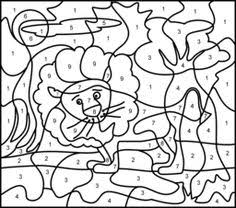color number color numbers animal coloring pages