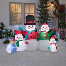 snowman 10ft outdoor decoration lights