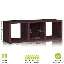 Cubby Storage Bench by Espresso 3 Cubby Storage Bench And Storage Cube Shoe Rack Way Basics