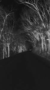 creepy halloween backgrounds winter scary road nature mountain dark iphone 8 wallpaper download