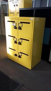 Yellow Filing Cabinet Uk Bespoke Yellow Storage Flexiform