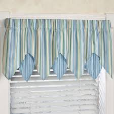 kitchen decorative valances for kitchen for fancy kitchen decor blue cream vertical striped valances for kitchen for fancy kitchen decor idea