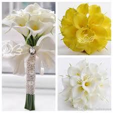 Calla Lily Bouquets Cheap Calla Lily Flowers Bridal Wedding Bouquets Formal Bridesmaid