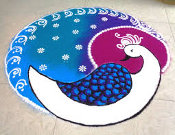 how to draw peacock latest rangoli youtube