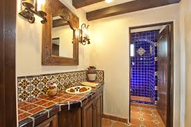 Spanish Tile Kitchen Backsplash Spanish Tile Backsplash Spanish Hacienda Homestead Spanish Wall