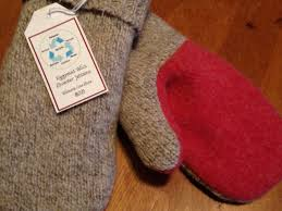sweater mittens local re purposed wool sweater mittens portsmouth nh patch