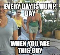 Hump Day Memes - every day is hump day when you are this guy quotesbae