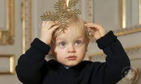 princess charlene and prince albert release christmas card and