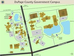 Illinois State Campus Map by Dupage County Il Official Website Contact Family Center