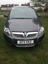 mpv car 7 seater 7 seater 1 7 diesel zafira mpv car for sale in luton