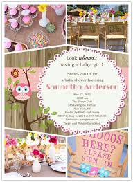 owl baby girl shower decorations pink owl baby shower inspiration board baby shower invitations