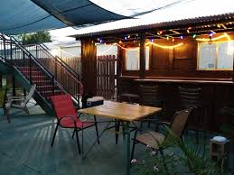Patio Kitchen Facilities Site 61 Hostel New Orleans