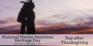 national american heritage day day after thanksgiving