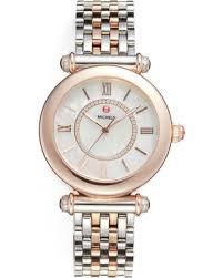 womens diamond bracelet watches images Tis the season for savings on women 39 s michele caber diamond