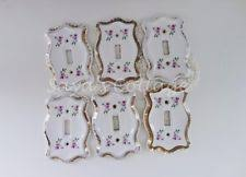 ceramic antique switch plates u0026 outlet covers ebay