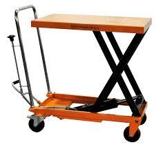 hydraulic scissor lift table cart 660 lb tf30