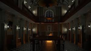 Mansion Dining Room by Resident Evil Mansion Dining Hall Wallpaper 1920 X 1080 Game