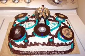 elvis cake topper coolest elvis cakes