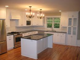 kitchen graceful white kitchen cabinets with black countertops