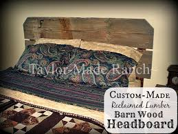 Barn Wood Headboard Myo Rustic Reclaimed Lumber Barnwood Headboard