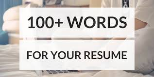 100 Resume Words 100 Resume Words To Land Your Next Job Productivity