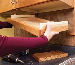 under cabinet pull out drawers cabinet knife drawer safe for children