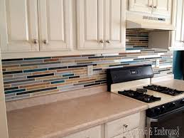 kitchen backsplash paint paint your backsplash sawdust and embryos all things thrifty