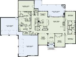 great room floor plans house plans with safe gun room