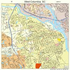 map of columbia south carolina west columbia south carolina map 4575850