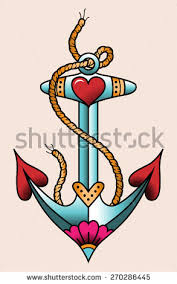 anchor tattoo stock images royalty free images u0026 vectors