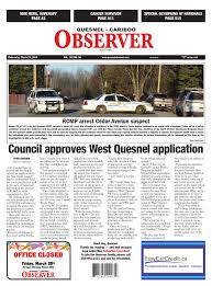 quesnel cariboo observer march 23 2016 by black press issuu