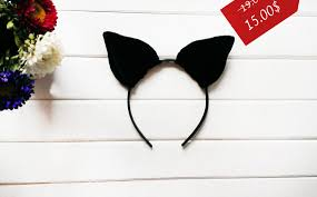 Halloween Costume Ears Cat Ears Halloween Costume Halloween Ears Costume Ears