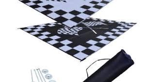 rv patio mat awning mat outdoor rug trailer mat complete kit 9 12