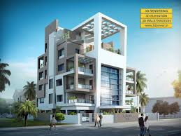 3d apartment 3d modern apartment day night rendering and elevation design by