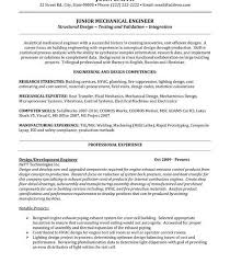 Sample Resume Of Experienced Mechanical Engineer Download Junior System Engineer Sample Resume
