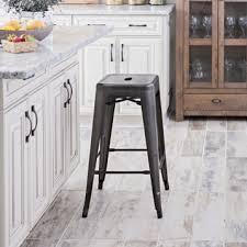metropolis gunmetal metal counter stool kirklands