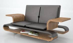 sofa that turns into a bed transforming table turns into a luxury leather couch