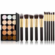 color concealer 15 colors concealer camouflage makeup palette u0026 10pcs makeup brush