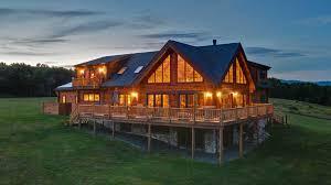 alta log homes leed certified log cabin homes for sale