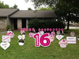 Backyard Sweet 16 Party Ideas Sweet 16 U0026 16th Birthday Flamingos 2 Go